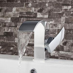 Bathroom-Waterfall-Desk-Sink-Faucet-Single-Handle-Hole-Brass-Basin-Mixer