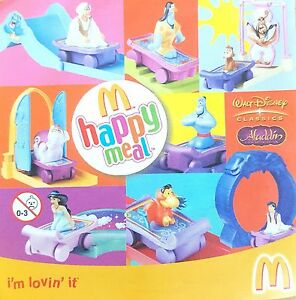 McDonalds-Happy-Meal-Toy-2004-Aladdin-Character-Figure-Plastic-Toys-Various