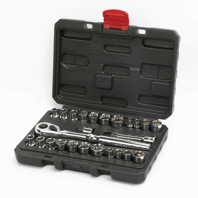 NEW Craftsman 54 pc 1//2 in Drive Impact Socket Set MM Metric SAE 51 52 55 95 78