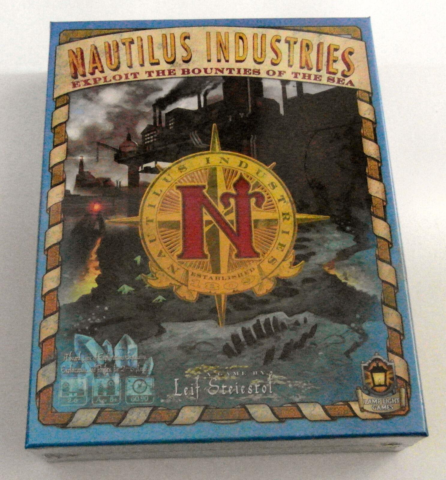 Nautilus Industries - Lamp Light Games Inc. - 2015