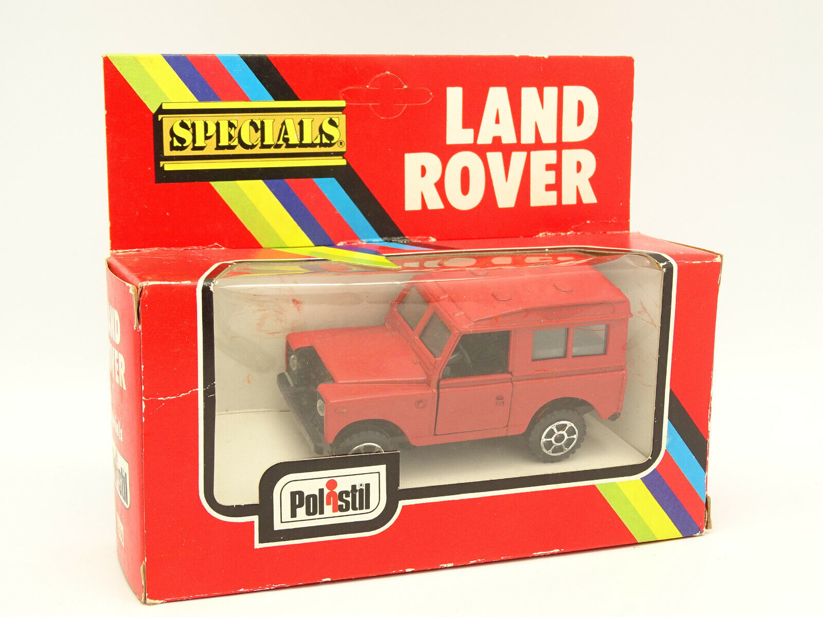 Polistil 1 43 - Land Rover 90 Rouge