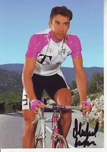 CYCLISME-carte-cycliste-MICHEL-LAFIS-equipe-T-TELEKOM-1996-signee