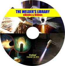 WELDING Manuals Course Stick MIG TIG Oxy Acetylene Plasma Cutting UnderwaterDVD