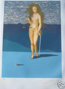 SALVADOR-DALI-GODDESS-OF-JUSTICE-TAROT-CARD-1977-LUBLIN
