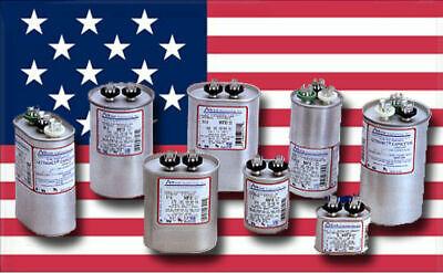 70 5 uF MFD x 370 440 VAC Motor Run Capacitor AmRad USA 2221 Made in USA