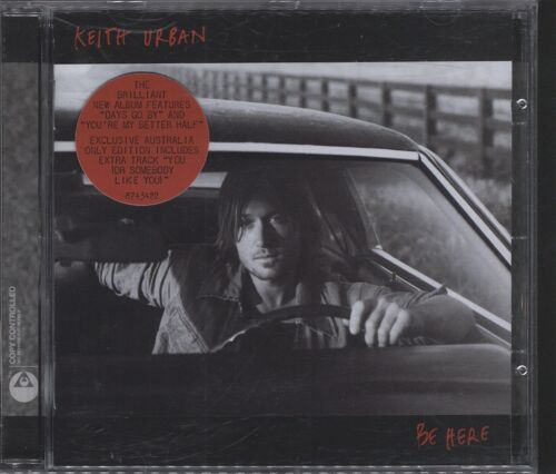 1 of 1 - Keith Urban - Be Here promo CD (VGC)