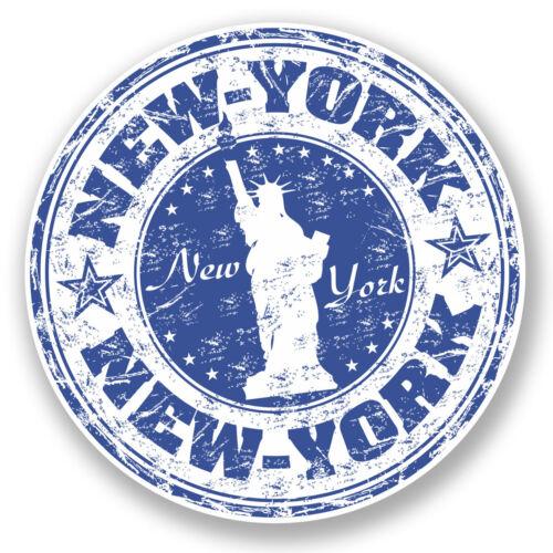 usa vinyle autocollant voyage bagages tag Portable Voiture Amérique # 5920 2 x 10 cm new york