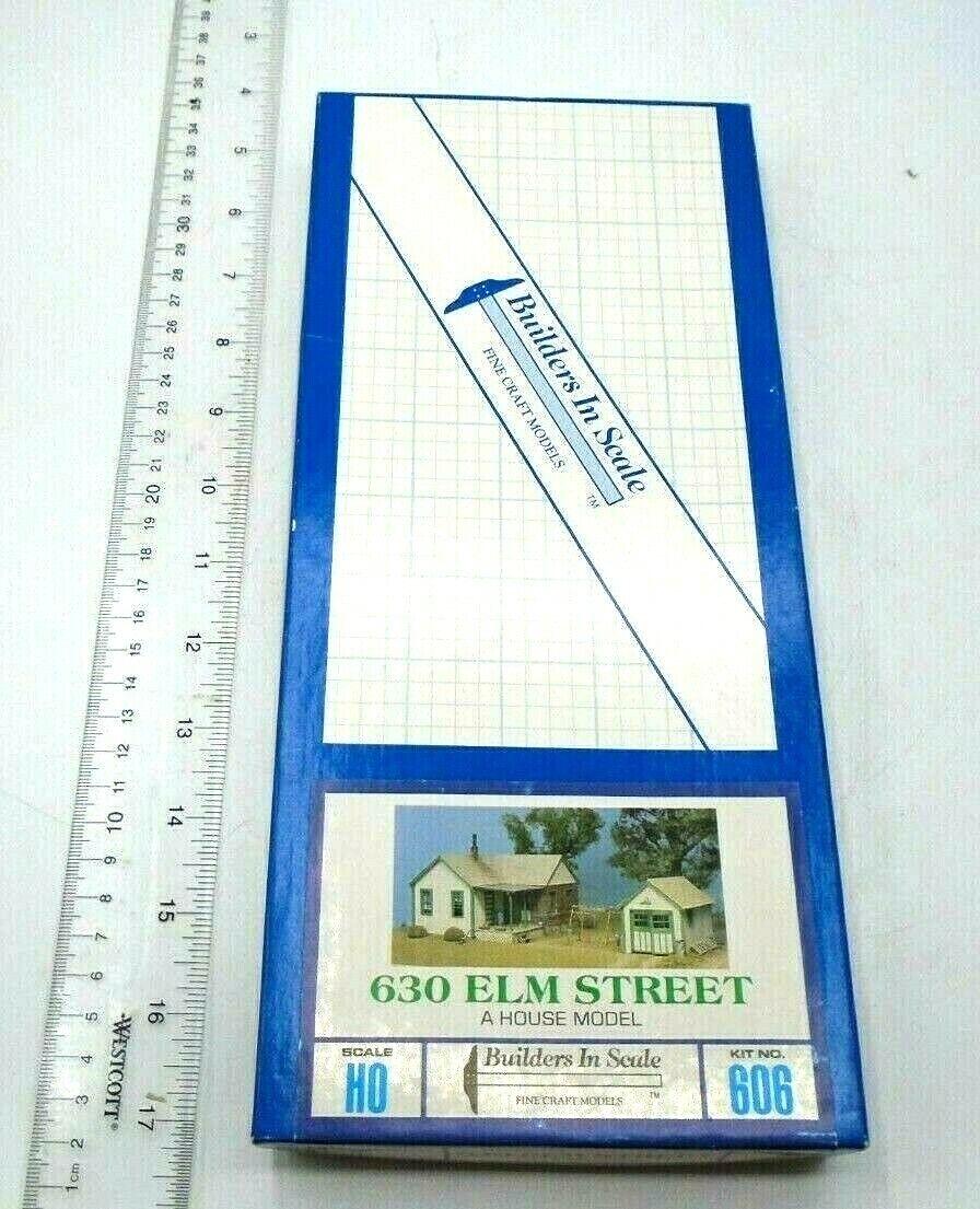 BYGGNADER I skala HO skala 630 Elm Street NIB