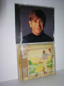 2 Elton John CDs - Goodbye Yellow Brick Road - Made in England