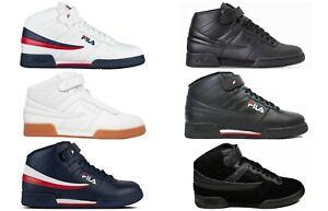 New-Men-039-s-FILA-F13-F-13-Mid-Classic-Strap-HI-Top-Basketball-Shoes-Sneakers-Comfo
