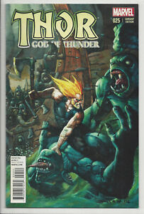 THOR-GOD-OF-THUNDER-25-BISLEY-VARIANT-1st-JANE-FOSTER-THOR-CAMEO-2014-NM-NM