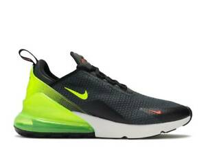 Black Neon Yellow Shoes AQ9164-005 Size