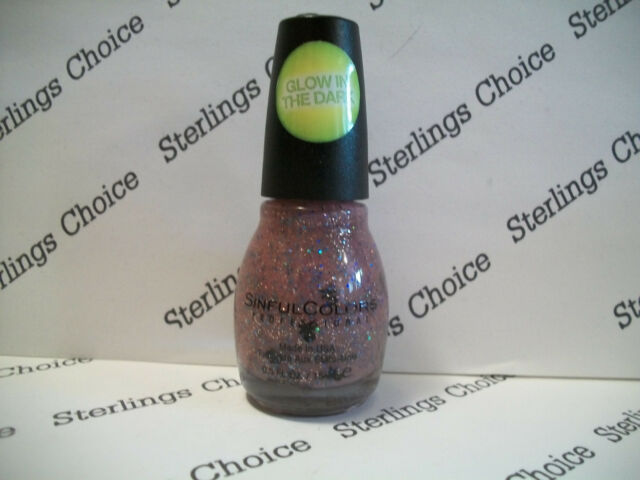 Sinful Colors Glow in The Dark Nail Polish #2143 Dead on | eBay