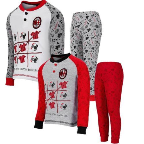Pigiama Milan Bimbo Abbigliamento Mezza Stagione Calcio ACM Milan PS 26910