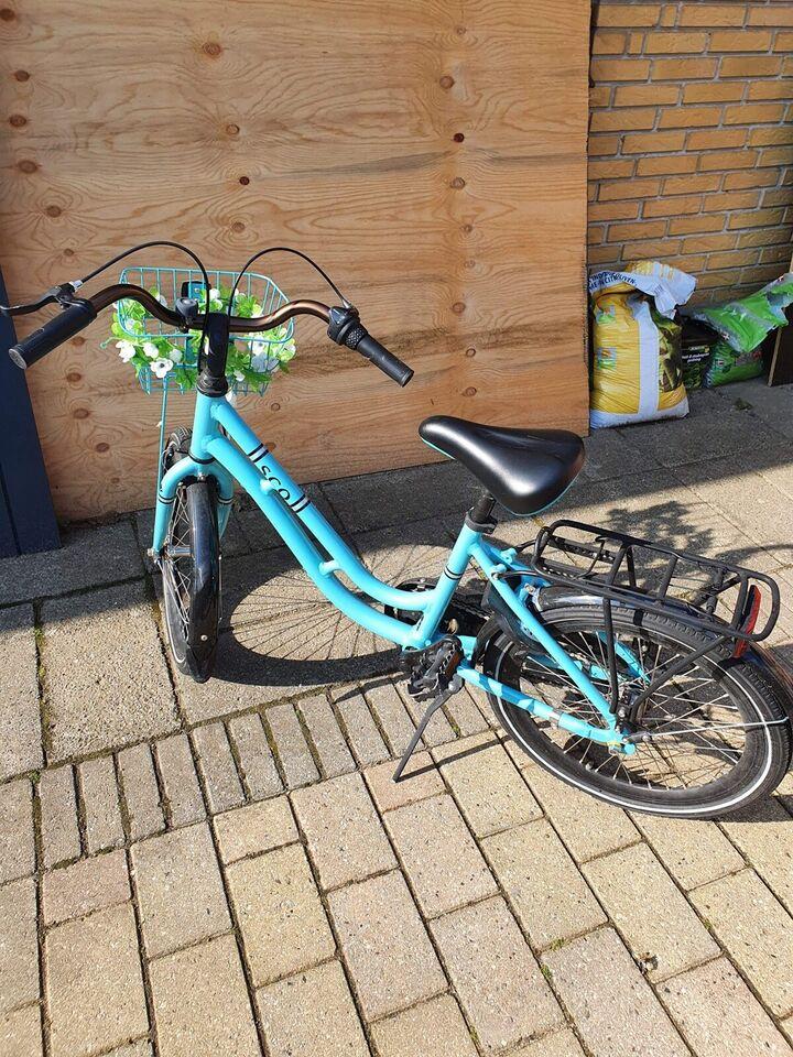 Unisex børnecykel, classic cykel, SCO
