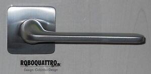 Maniglie per porte interne roboquattro cromo satinato colmbo 10 anni di garanzia ebay - Maniglie porte interne cromo satinato ...