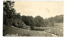 Ludingtonville NY - CREEK SCENE - RPPC Postcard near Patterson/Kent Cliffs