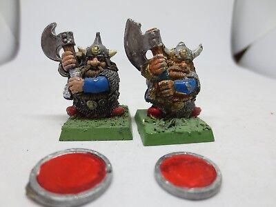 GW Citadel warhammer dwarf RRD1 v2 Bugman/'s Dwarf Rangers Brewer trooper 2 1987