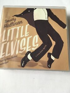 Little-Elvises-By-Timothy-Hallinan-Audio-Book-New-And-Sealed