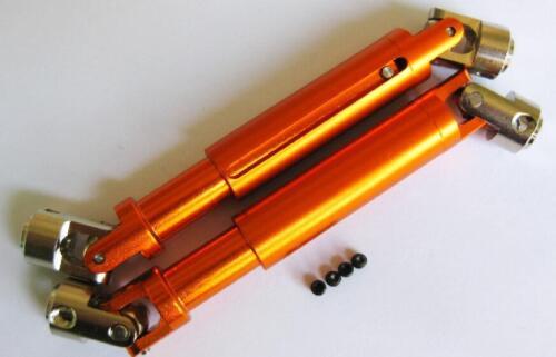 Aluminum alloy Upgraded Parts For 1:10 HSP Rock Crawler 94180 RC Car Orange  HOT