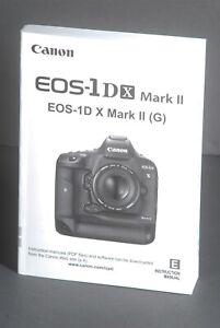 Canon-EOS-1DX-Mark-II-Genuine-Camera-Instruction-Book-Manual-User-Guide