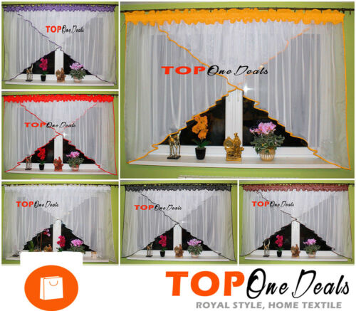 Amazing Ready Made Voile Net Curtains