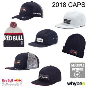 56af9eb3242 Caricamento dell immagine in corso 2018-RED-BULL-RACING-F1-Team-Caps-Inc-
