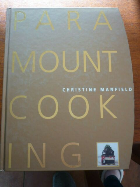 "Christine Manfield ""PARAMOUNT COOKING"" Modern Australian Restaurant Cookbook"