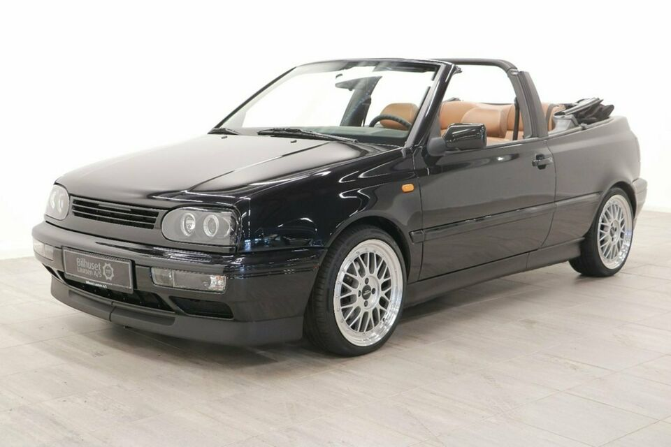 VW Golf III 1,8 Cabriolet Benzin modelår 1996 km 189000