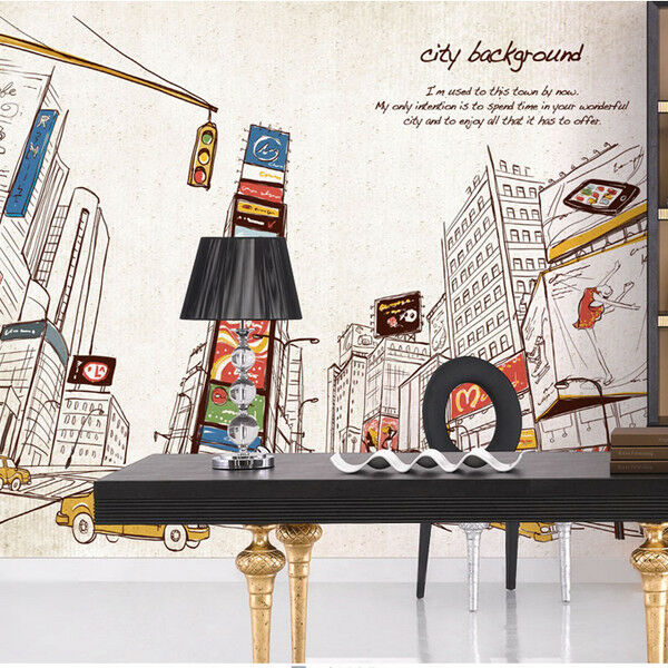 3D Stadt Hintergrund Malerei 9 Tapete Wandgemälde Tapete Tapeten Bild Familie DE