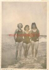 2 x Foto, BDM Maiden in Graal Müritz, Jugend vor 1945 (N)1755