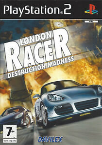 LONDON-RACER-DESTRUCTION-MADNESS-for-Playstation-2-PS2-with-box-amp-manual-PAL