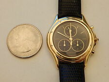 GENUINE CARTIER SOLID 18K GOLD 32MM CHRONOFLEX COUGAR RONDE PANTHERE PANTHER