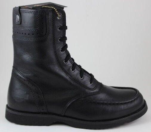Ahorre hasta un 70% de descuento. Mujer Harley Davidson Dessay Dessay Dessay botas Cuero Negro D85249 Piel Auténtica Nuevo  100% a estrenar con calidad original.