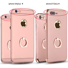 mosafe luxury ultra thin shockproof ring case cover for apple iphone