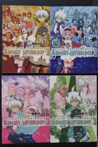 Tales of the World JAPAN manga Radiant Mythology 3 vol.1~4 Complete Set