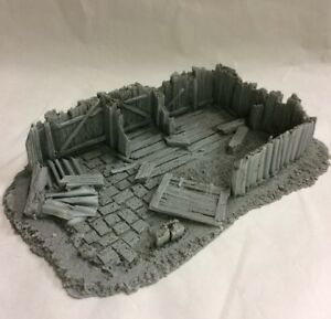 25/28mm Large Derelict Building - Type 18 - Javis Bzb18 - Free Post