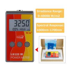 Ir Power Meter Infrared Radiation Luminance 1000 To 1700 Nm Ir Rejection