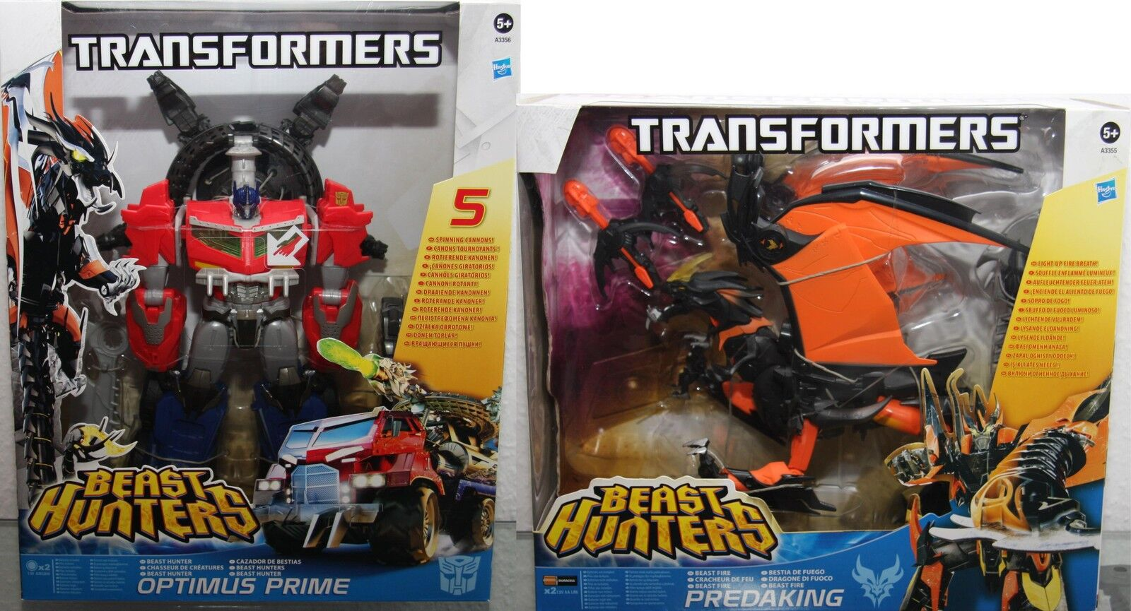 Transformers-Beast HUNTERS- Hasbro -figure-choose  Predaking, Optimus Prime