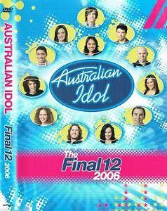 AUSTRALIAN IDOL: The FINAL 12 2006 DVD VERY RARE TV SERIES