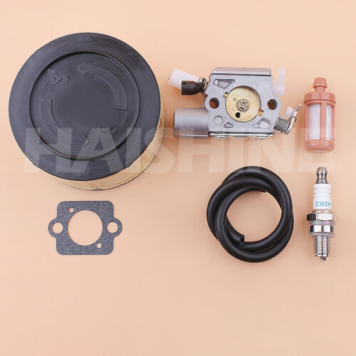 Carburetor Kit For Stihl MS251 MS251C Chainsaw Air Fuel Filter Line Spark Plug