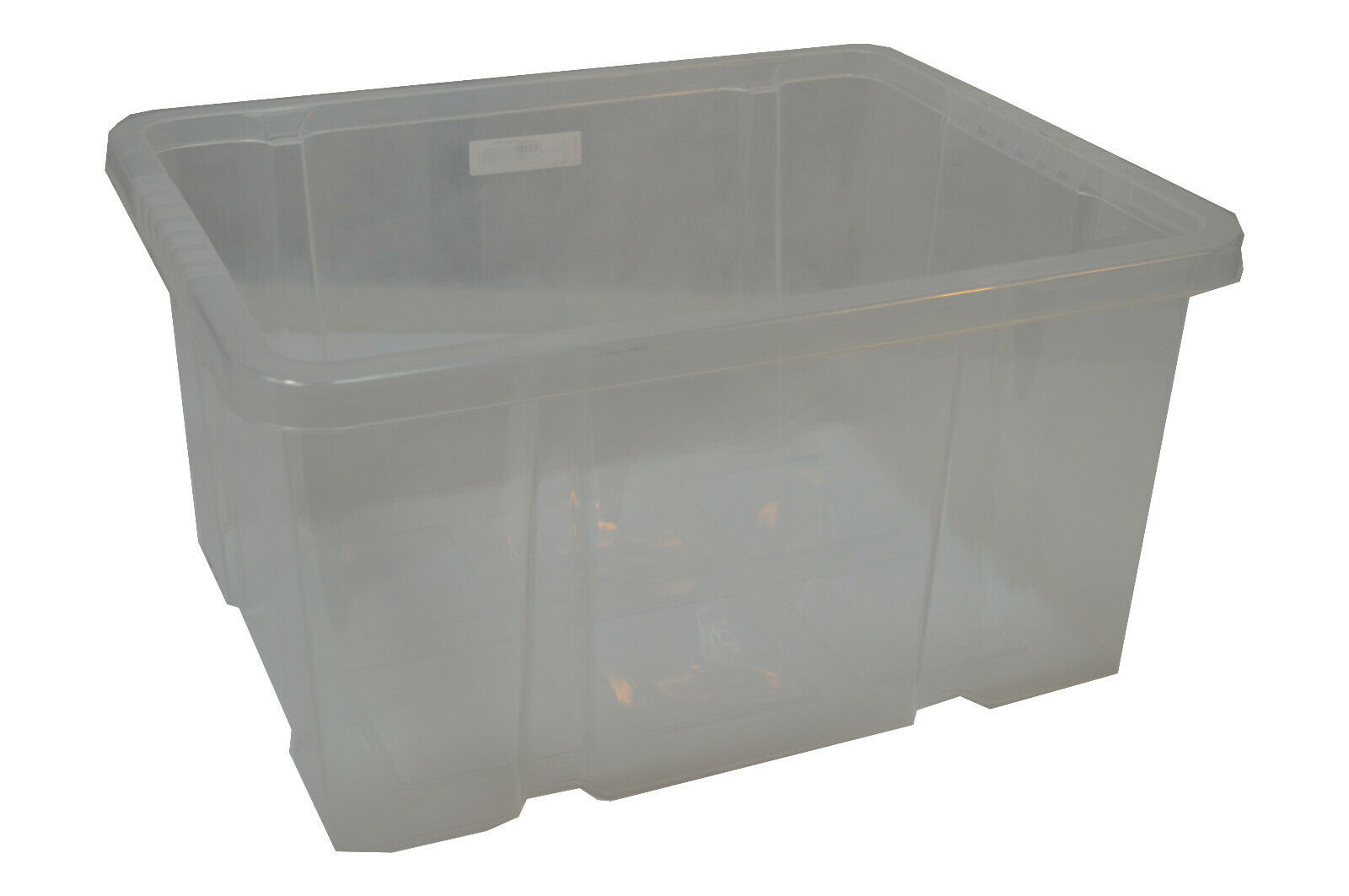 12X Dreh Stapelbox Aufbewahrungsbox Eurobox 44x35x23,5cm 29L transparent Unibox | Sonderangebot