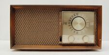 VTG Zenith T2530 Tube Amp Transistor AM FM Radio Brown Mid Century Decor Antique