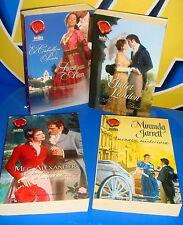 Libro Cuatro libros -LIBROS DE AMOR Y PASION DE JULIET LANDON-MEG ALEXANDER-MIRA