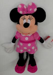 Disney Minnie Mouse Stuffed Animal Cuddle Pillow 762657025507 Ebay