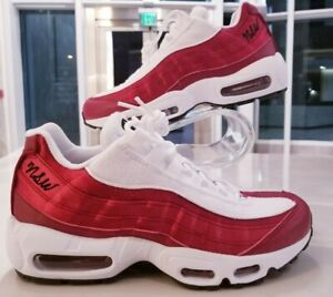 hot sale online 907b8 aa2e1 Image is loading Nike-Air-Max-95-LX-NSW-Red-Crush-