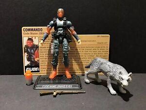 G-I-Joe-25th-Commando-Snake-Eyes-amp-Timber-DVD-Battles-V36-Figure-Complete