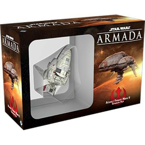 Star Wars  Armada Angriffsfregatte de Type II Allehommed Rebelles Frégate Rebel  grosses économies