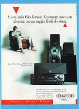 BELLEU995-PUBBLICITA'/ADVERTISING-1995- KENWOOD KR-V7070