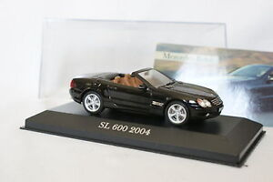 Ixo-Presse-1-43-Mercedes-SL-600-2004-noire